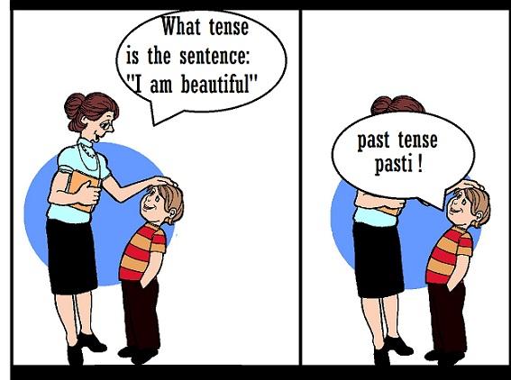 kursus bahasa inggris - tense confusion