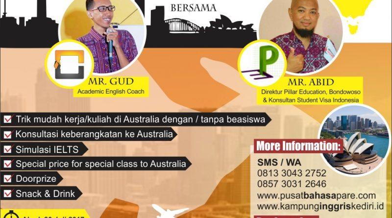 cara murah studi di australia