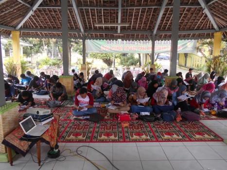 Workshop TOEFL - simulasi TOEFL 150 peserta